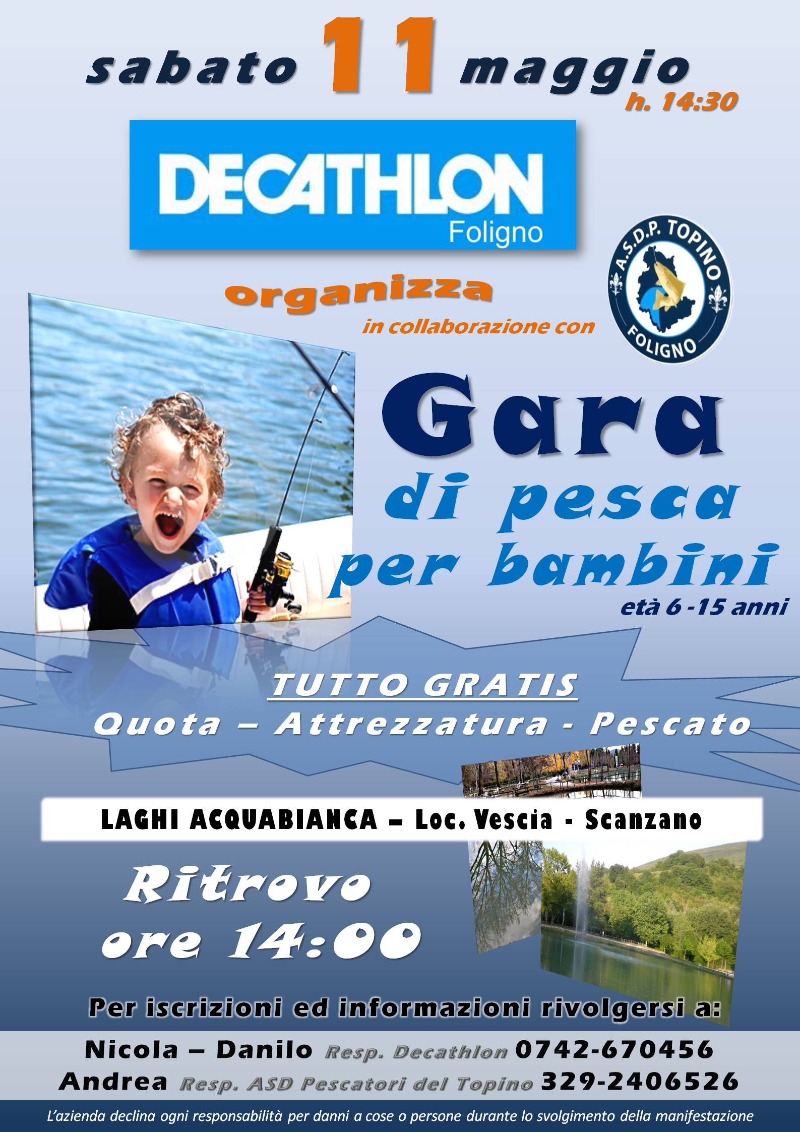 Gara bambini - Decathlon DEFINITIVA