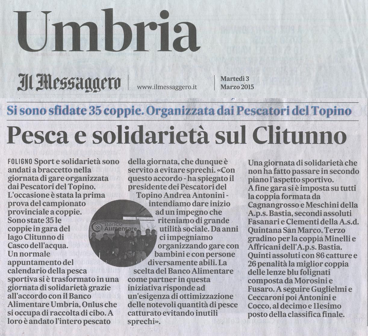 articolo_messaggero_umbria_03.03.2015