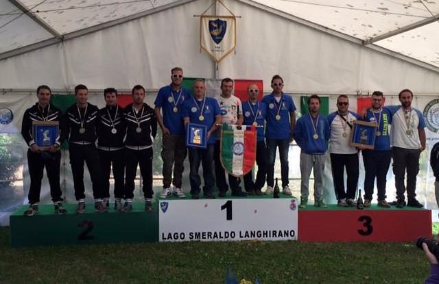 podio Camp Ita a squadre