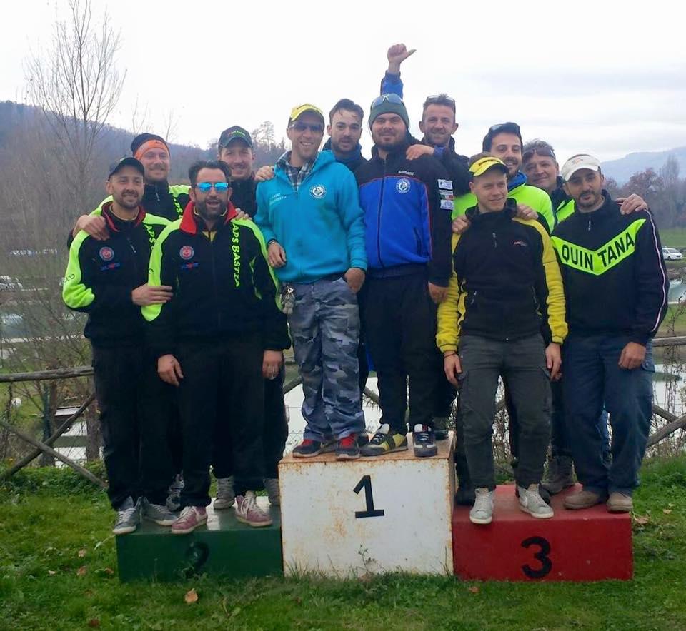 podio camp provinciale trota lago perugia fipsas 2015