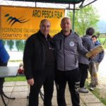 Report trota lago - Zonale centro Individuale Squadre Arci Pesca Fisa 2016 podio individuale