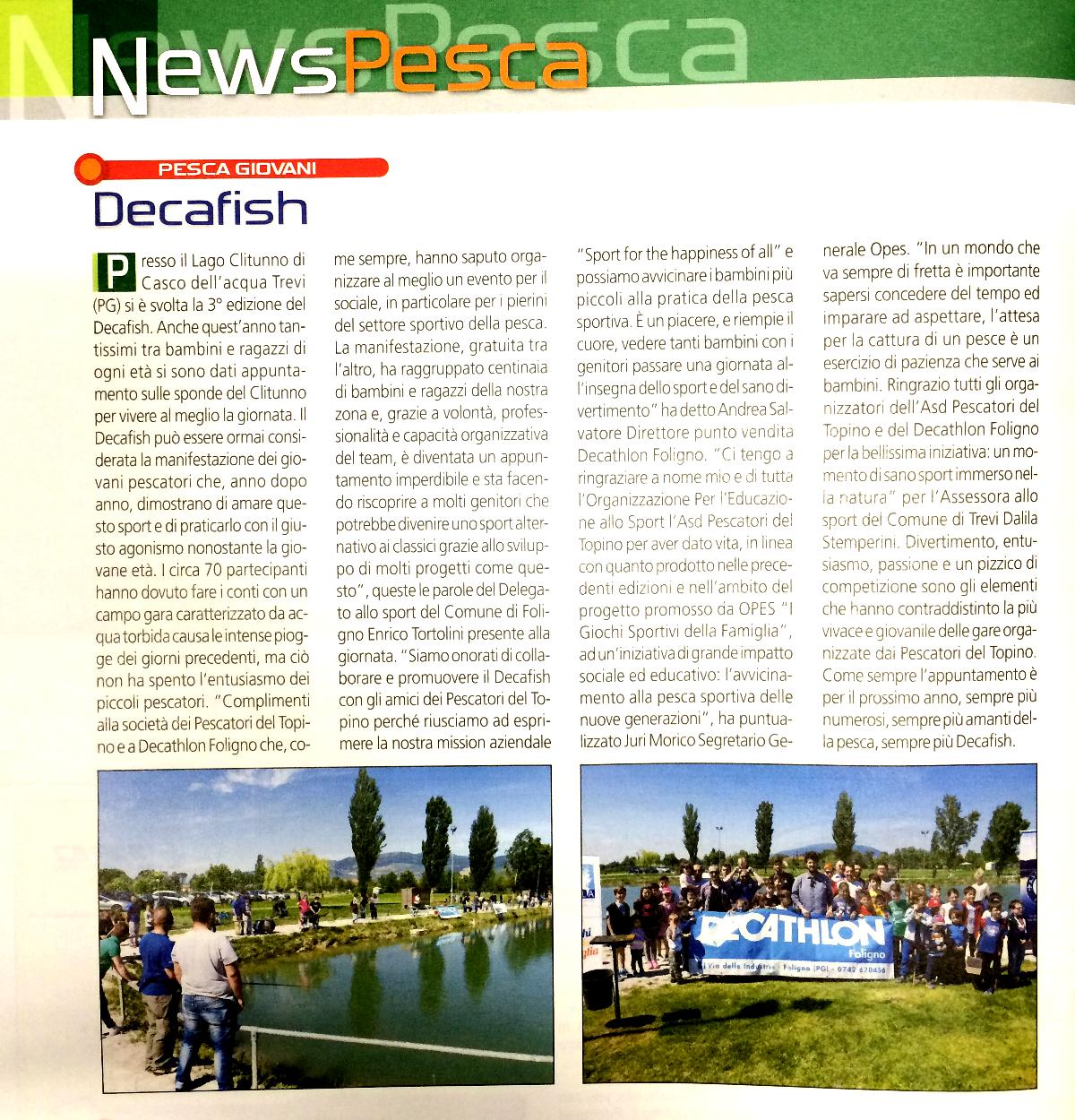 articolo pesca in agosto 2016 decafish